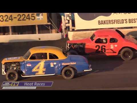 Heat Races: Bakersfield Speedway 7-22-17