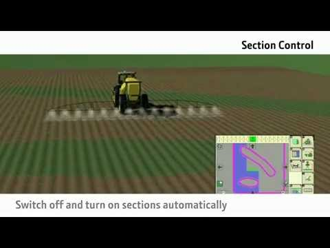 John Deere FarmSight - Section Control