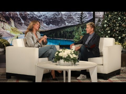 Ellen Was Gisele Bündchen's Good Luck Charm for Meeting Tom Brady