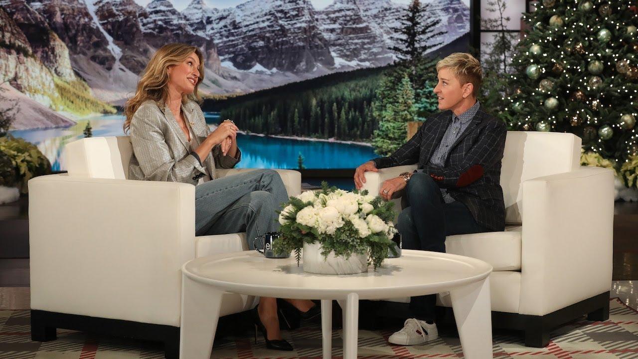 Download Ellen Was Gisele Bündchen's Good Luck Charm for Meeting Tom Brady