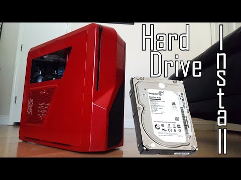How to Install  a Hard Drive