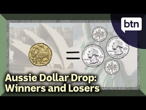 Aussie Dollar Drop: Who Are The Winners And Losers?