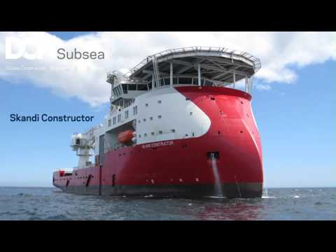 DOF subsea 3D animation
