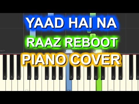 Yaad Hai Na Piano Cover |Raaz...
