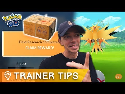 ZAPDOS RESEARCH BREAKTHROUGH & QUESTS CONFIRMED! Pokémon GO Update & APK Mine
