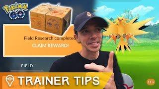 ZAPDOS RESEARCH BREAKTHROUGH & NEW QUESTS CONFIRMED! Pokémon GO Update & APK Mine