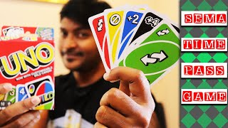 #UNO   How to play UNO card game in Tamil? Sema Entertainment - Sandan Reviews