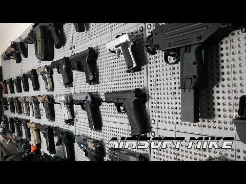 Airsoft Gun Wall Display Panels Tools Organizer