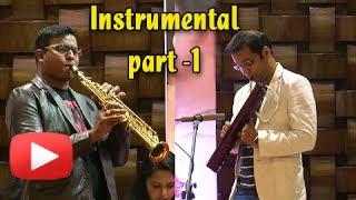 Music Launch - Cappuccino Marathi Movie - Instrumental Song 1 - Avinash-Vishwajeet, Manasi Naik