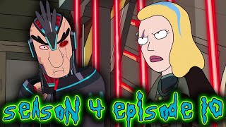 Rick & Morty Season 4 Episode 10 EXPLAINED! How Space Beth Changes EVERYTHING & Season 5 Setup!