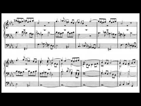 J.S. Bach - Fantasia C minor, BWV 562 {Peter Hurford}