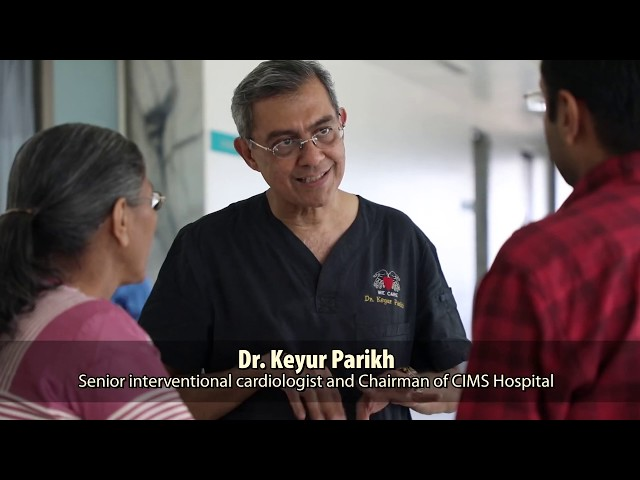 Dr. Keyur Parikh performs TAVI procedure in a stroke patient at CIMS Hospital, Ahmedabad