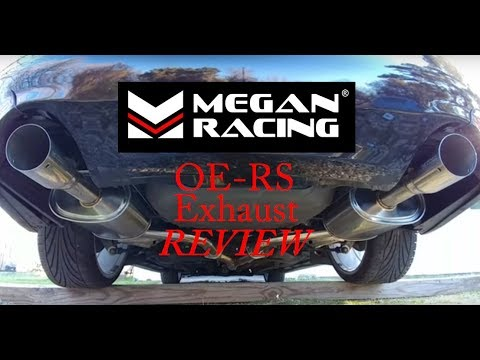Megan Racing OE RS Cat-Back Exhaust Review For Nissan Maxima