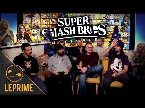 Grand tournoi Super Smash Bros Ultimate !