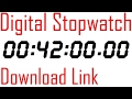 #044 Stopwatch Digital Timer 42 minutes counter with download link