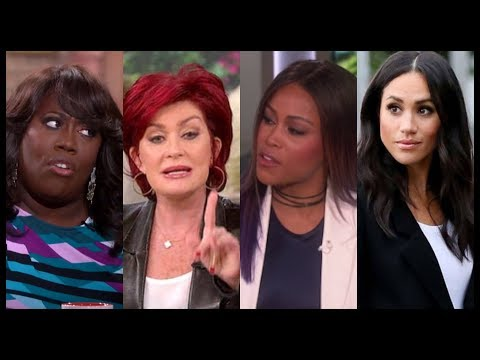 Sheryl Underwood, Sharon Osbourne & Rapper Eve Fight Over Megan Markle Being Black On The Talk🙄