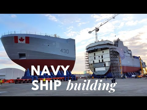 How to build Navy Ship - Extreme Engineering