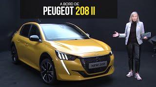 A bord de la Peugeot 208 (2019)