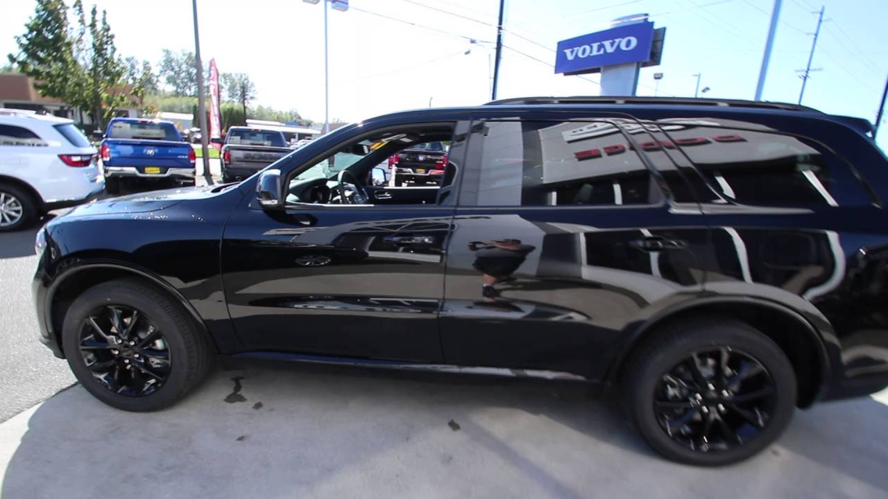 2017 Dodge Durango Gt Black Crystal Hc629691 Mt Vernon Skagit