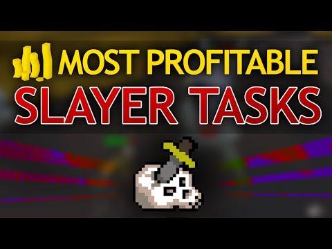 Most Profitable Slayer Tasks In OSRS