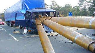 Dangerous Idiots Biggest Truck \u0026 Crane Fails Compilation, Machines Skills Working