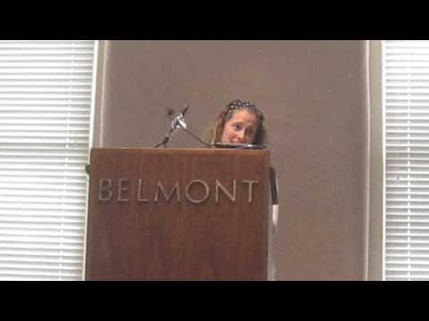 HOF Speech by Belmont