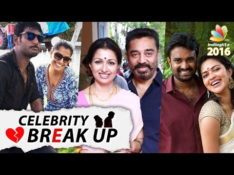 The Celebs who BROKE UP in 2016   Shocking divorces of Tamil Actor and Actresses