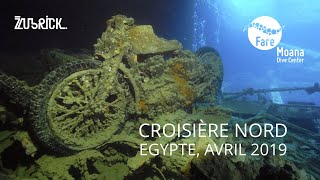 Croisière Nord - Mer Rouge, Avril 2019