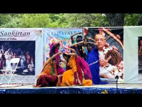 2011 Rathayatra - Dance - Glorifying Srimati Radharani - Sunday School - 6/8