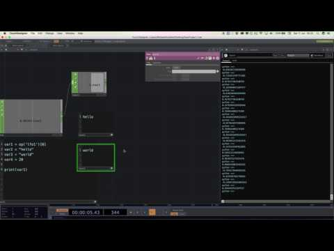 Introduction to Python and Touchdesigner 099 - Part 1