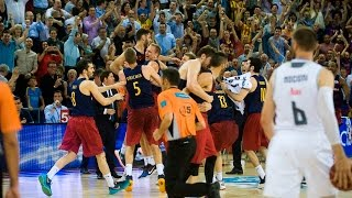 BEHIND THE SCENES - FC Barcelona Lassa v Real Madrid (LIGA ENDESA FINAL)