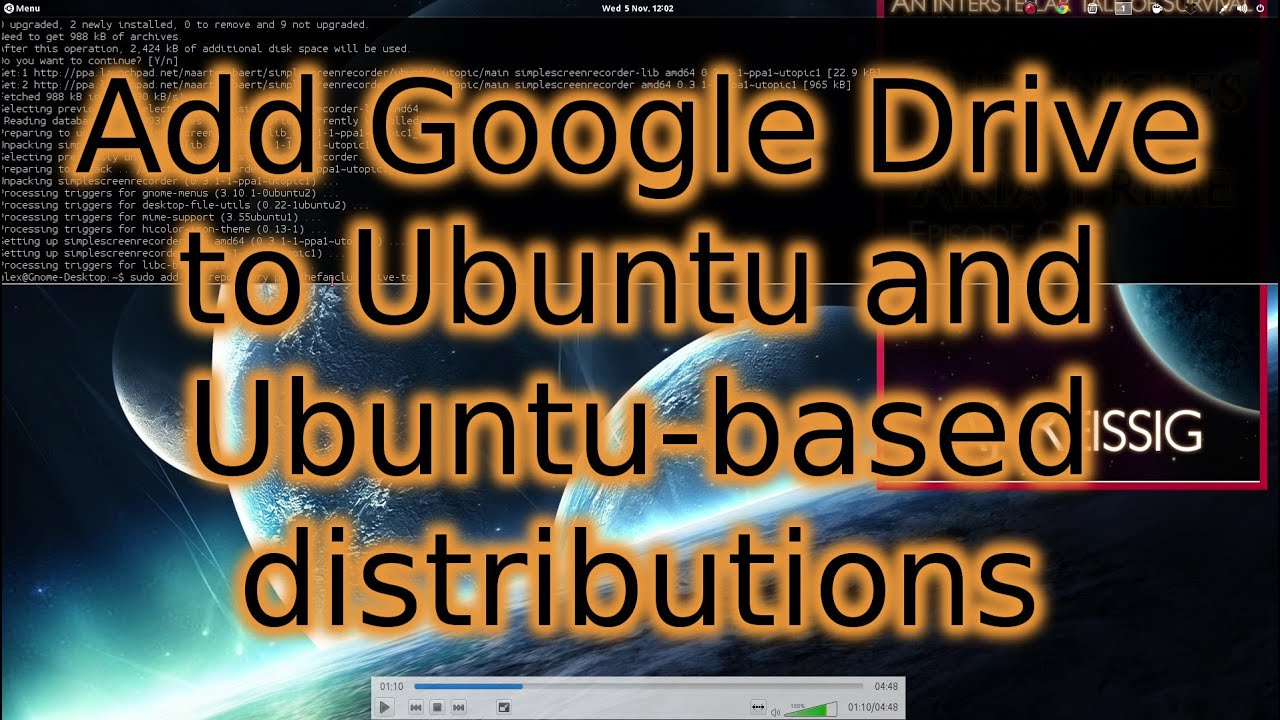 How to add Google Drive to Ubuntu, Linux Mint and other Ubuntu-based  Distributions