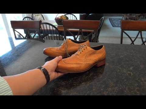 Cole Haan Colton Casual Wingtip in Desert Gold: Expereince Review pt. 1