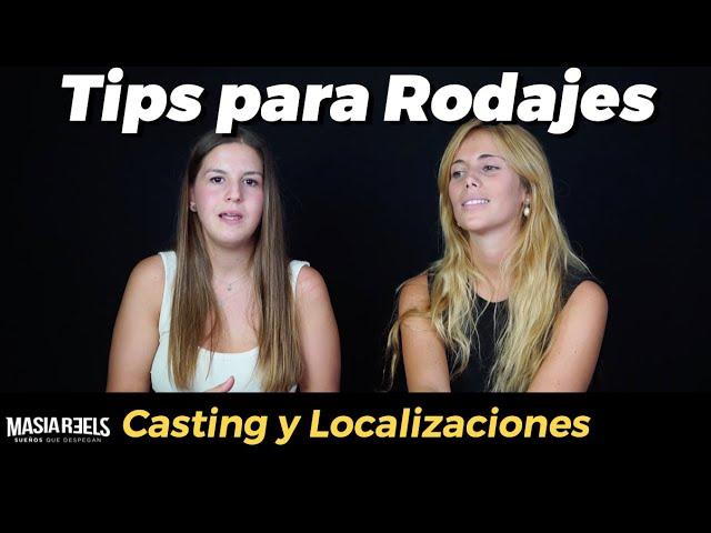 RUEDA GRATIS TU VIDEOBOOK - tips de Casting y Localizaciones