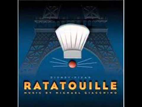 Ratatouille Soundtrack-18 The Paper Chase