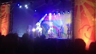 Шоу-балет Юта в День города 2015 Ярославль
