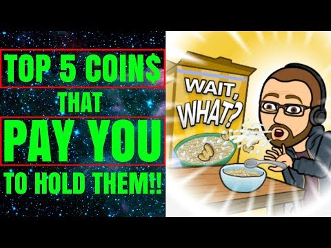 🔥Top 5 Passive Income Crypto Coins For 2018