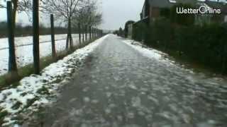 Nach Schnee im Westen Regen - Tauwetter währt aber nur kurz