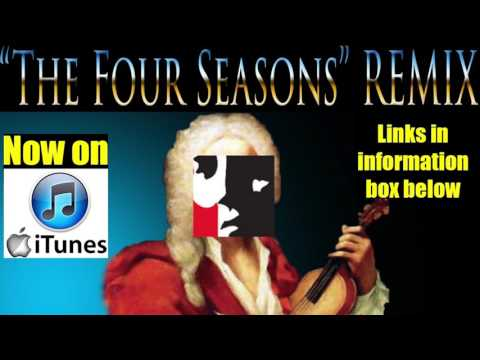 """Download Drumr828's """"The Four Seasons Remix""""  available on itunes! and Google PLAY"""