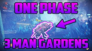 3 MAN ONE PHASE BEAST GARDENS! [6 DOGS ONE CYCLE] [Pleasure Gardens]
