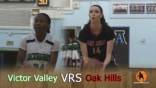 victor valley vrs oak hills girls