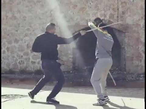 رياضة العصا.. رياضة تقليدية و فنون قتالية  - 19:22-2018 / 2 / 14
