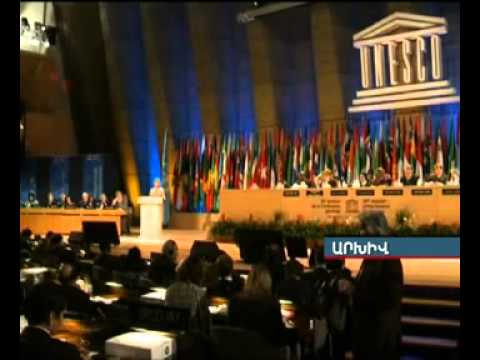 ONLINE broadcasting of Yerevan, being announced as World Book Capital 2012. Armenia TV. Part 1