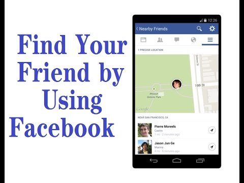 How to track friend location by facebook messenger - YouTube