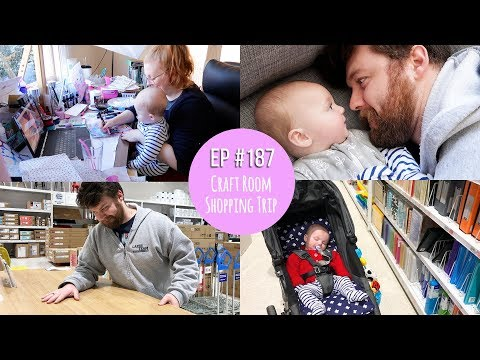Mr & Mrs RAD Ep #187 ~ Craft Room Shopping Trip // AUSTRALIAN FAMILY VLOGGERS