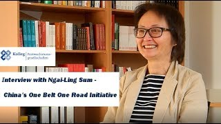 Interview with Ngai-Ling Sum - China's One Belt One Road Initiative