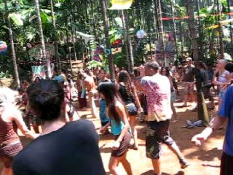 India Jungle Party @ Gokarna Feb.2008 by.Xtribal