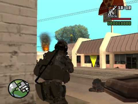 GTA SA Battlefield 3 Multiplayer DYOM [HQ]