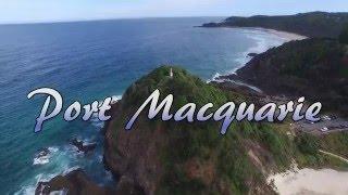 Port Macquarie I 4K I Aerial cinematography