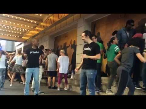 "HAMILTON Ham4Ham 9/11/15 ""Love for the Techies Day"" with the entire company"